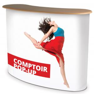 Comptoir accueil pop-up
